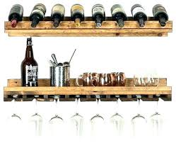 wine glass holder shelf rack designs 2 piece set racks floating shelves r