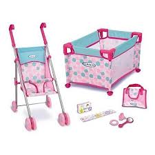 Graco Baby Doll Playset Stroller and Playpen Walmart