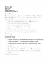 Retail Banking Experience Resume