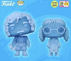 Funko Pop Vinyl SDCC Nearly Headless Nick And Moaning Myrtle Glow In The  Dark Unboxing!Review Warner Brothers Harry GITD | Funko pop vinyl, Funko  pop, Pop vinyl