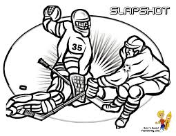 Small Picture Hat Trick Hockey Coloring Sheets Free Hockey Players Hockey