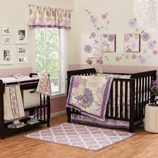 bedding cribs luxury standard dust ruffle linen blueberrie kids nursery safari blue toile hypoallergenic princess furniture