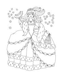 Small Picture Elsa Snow Queen Colouring Pages coloring page