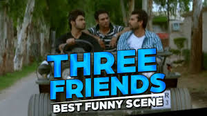 3 Friends Best Funny Scene Yaar Anmulle Punjabi Movie Arya Babbar Yuvraj Hans Harish Verma