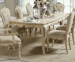 Home Elegance Elsmere Cream Gold Dining Table The Classy Home