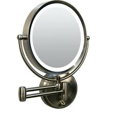 lighted magnified makeup mirror wall mounted magnifying mirror with light wall mount for tic com most