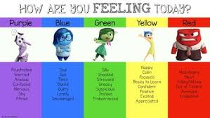 Inside Out Feelings Chart Printable Inside Out Emotion Chart Related Keywords Suggestions