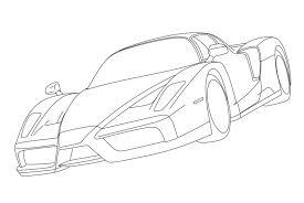 Ferrari Kleurplaten Kleurplateneu Regarding Auto Kleurplaat In