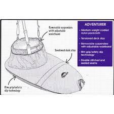 Seals Adventurer Kayak Spray Skirt
