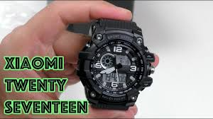 <b>Xiaomi Twenty Seventeen</b> - копия G-Shock? - YouTube