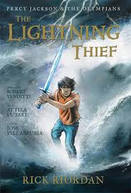 Lighting Thief The Lightning Thief The Graphic Novel By Robert