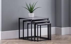 staten round nesting coffee table
