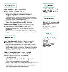 resume Walt Disney Resume disney college program resume jaime krzos project  manager homer 01 jpg