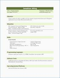College Student Resume Sample Resume Formats For Students Resume