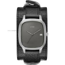 "cuff watches watch shop comâ""¢ mens storm benzo cuff watch benzo square titanium"