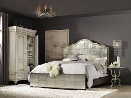 Mirror Furniture Bedroom Hooker Furniture Bedroom Arabella King Mirrored Panel Bed 1610