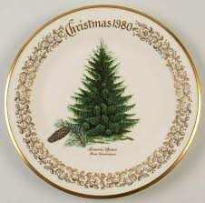 Lenox Annual Trees Around The World Plate 2017 27th Ed  EBayLenox Christmas Tree Plates