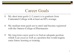 long term and short term career goals examples short term career goals examples examples and forms
