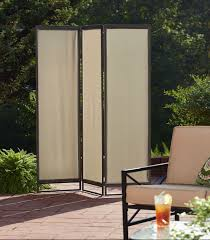 three panel outdoor privacy screen designs