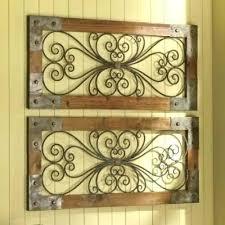 galvanized metal wall art metal and wood wall decor best iron wall decor ideas on hanging galvanized metal wall art