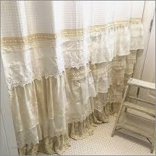 victorian lace shower curtains beautiful my bohemian bathroom with vintage lace