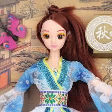 Báo giá Nhựa Trung Quốc Cổ Đại-Bộ Trang Phục Nàng Công Chúa Đầm Búp Bê Cho  Bé Gái Cho Bé Hàng Ngày Quà Tặng chỉ 141.000₫