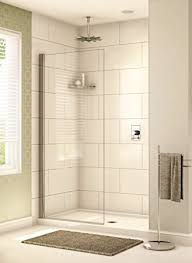 48 x 78 fixed glass shower panel com in designs 0