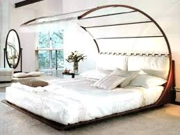 Mirrored Canopy Bed Mirrored Canopy Bed Frame California King ...