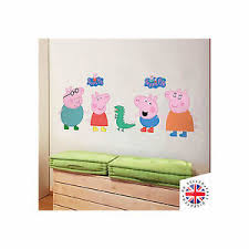 peppa pig vinyl wall art