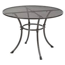 round outdoor metal table. Round Outdoor Metal Table C