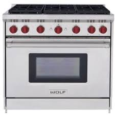 wolf gas range 36.  Wolf Wolf GR366  Front View For Gas Range 36 AJ Madison