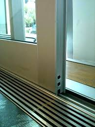 sliding door threshold sliding door threshold a lift slide door residential architect sliding glass door threshold