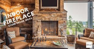 indoor fireplace exquisite decor ideas