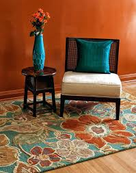 turquoise and orange area rug incredible rugs amazing burnt