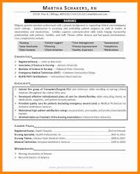 9 Career Objective Nurse Resume Sections For Manager Credential