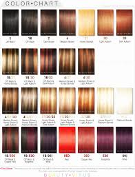Adore Semi Permanent Hair Color Chart All Inclusive Permanent Hair Color Comparison Chart Ion