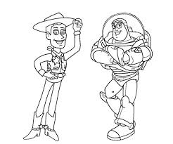Small Picture Buzz And Woody Smile Toy story Coloring Pages Pinterest Kids net
