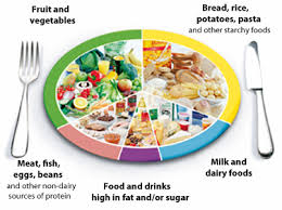 healthy food plate diagram. Unique Food The Eatwell Plate Percentages And Healthy Food Diagram E