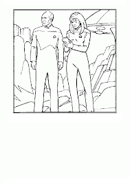 Small Picture Coloring Page Star trek coloring pages 8