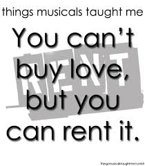 Rent Quotes Beauteous One Of My Absolute Favorite RENT Quotes Everything Is RENT