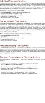 oursolutions individual placement services if you are looking to hire a new employee mrci worksource can