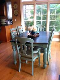 painted kitchen tables imposing design painted kitchen table ideas chalk paint furniture best hand painted kitchen