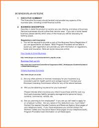 small business plans examples business plan examples of small outline example pdf a company