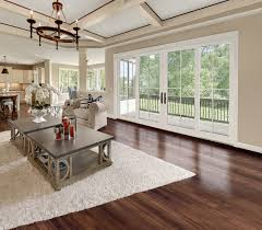 Four Panel Sliding Door with Simulated Divided Lite Interior ...