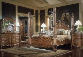 Luxurious Wood Canopy Bed Frame — Ccrcroselawn Design