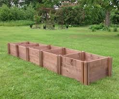 herb bed 3 module 15cm deep row of 5