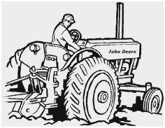 Tractor Trailer Coloring Pages Luxury Truck Outline Clip Art 83