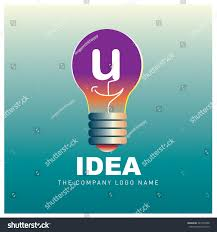Company Id Design Ideas Vector Idea Logo Design Letter U Stock Vector Royalty Free