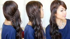 You Tube Hair Style side swept waterfall twist hairstyle feat nume curl jam youtube 2816 by wearticles.com