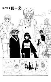 Beautiful Hunter X Hunter Manga Resume Contemporary - Simple .